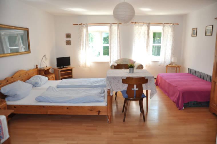 Gemütliches Zimmer des Hotel und Wirtshaus Klosterbräustüberl Schäftlarn